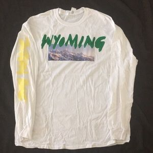 Other - Kanye West Wyoming T Shirt Oversize XXL White Tee